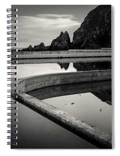 Tarlair Pool Spiral Notebook