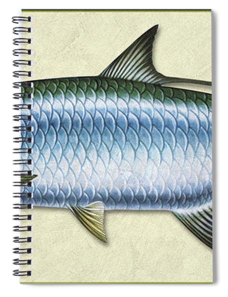 Tarpon Id Spiral Notebook