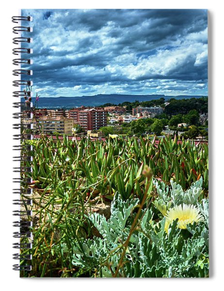 Tarragona From The Roman Wall Spiral Notebook