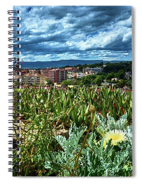Tarragona From The Roman Wall Spiral Notebook