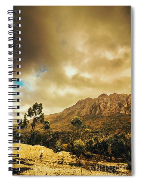 Tasmania Mountain Marvels Spiral Notebook