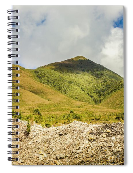 Tasmanian Mountains Spiral Notebook