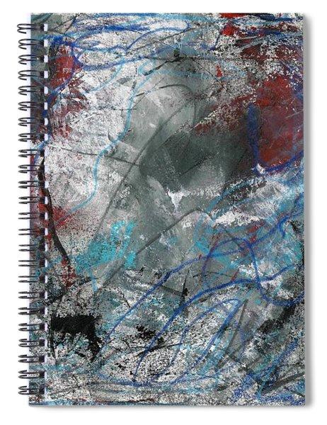 Tattered Edges Spiral Notebook