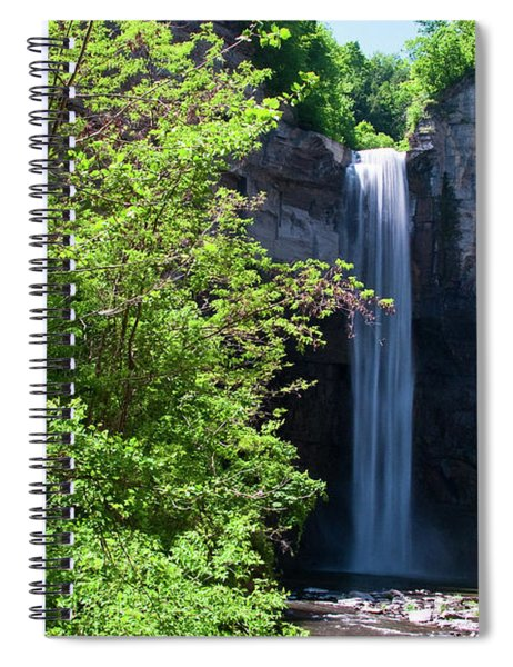 Taughannock Falls 0466 Spiral Notebook