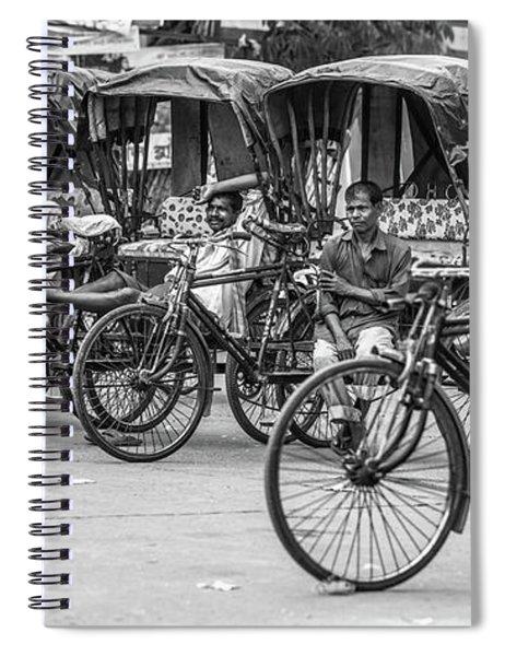 Taxi Rank Spiral Notebook