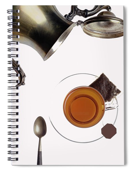 Tea For One Spiral Notebook