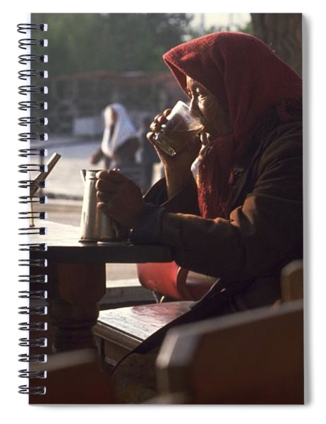 Tea In Tashkent Spiral Notebook