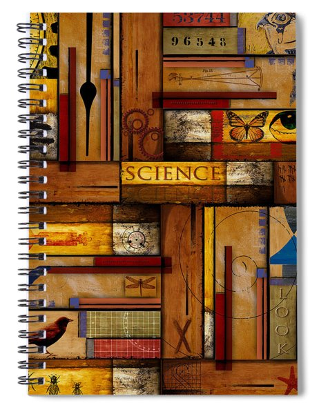 Teacher - Science Spiral Notebook