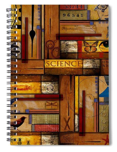 Teacher - Science Spiral Notebook