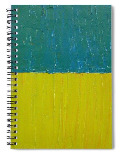 Teal Olive Spiral Notebook