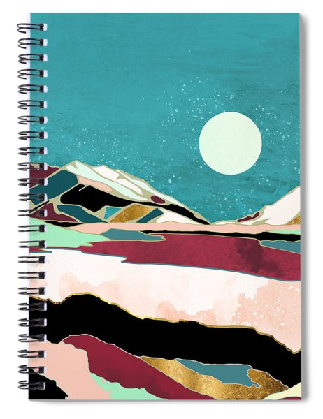 Teal Sky Spiral Notebook