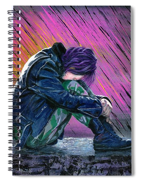 Tears In The Rain Spiral Notebook