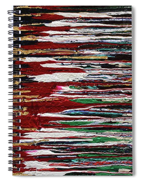 Tears Of The Sun Spiral Notebook