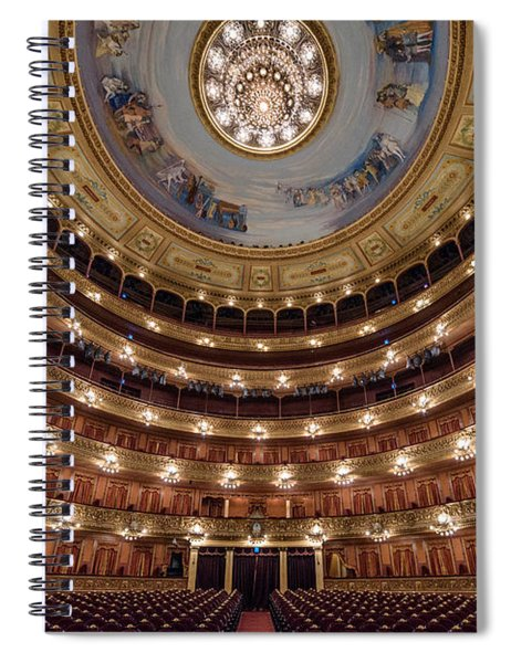Teatro Colon Performers View Spiral Notebook