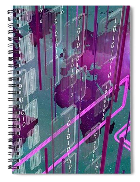 Tech Perspective World Spiral Notebook