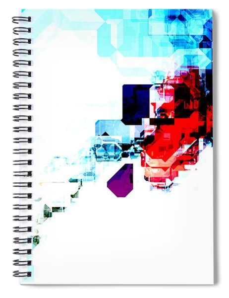 Techno Blitz Spiral Notebook