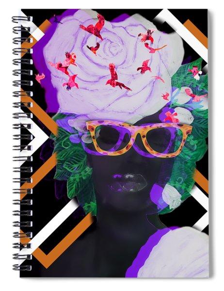 Techno Mieya Spiral Notebook