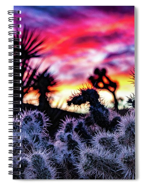 Teddy Bear Cholla Spiral Notebook