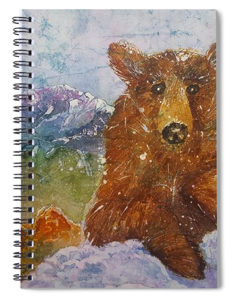 Teddy Wakes Up In The Most Desireable City In The Nation Spiral Notebook