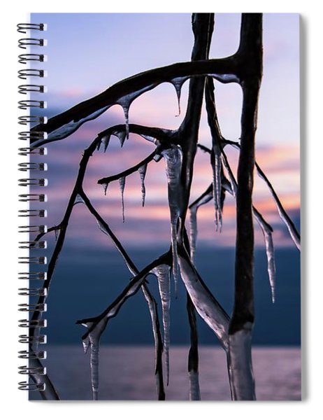 Teeth Of Winter Spiral Notebook