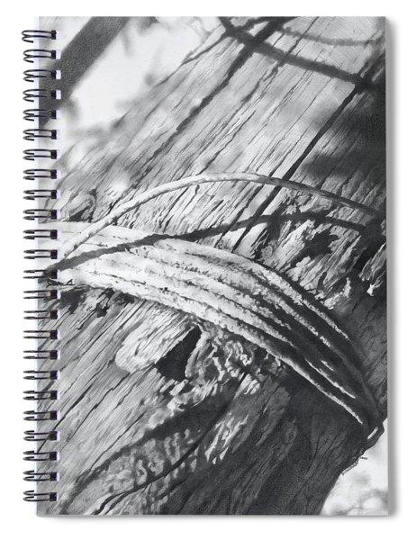 Telegraph Pole Spiral Notebook