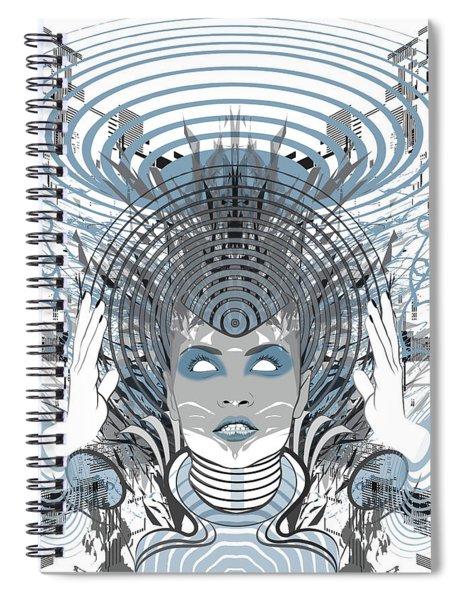 Telepathy Spiral Notebook