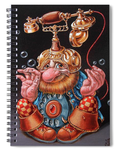 Telephonic Spiral Notebook