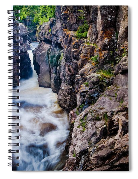 Temperance River Gorge Spiral Notebook