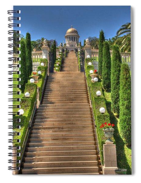 Temple 2 Spiral Notebook