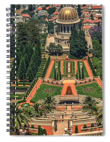 Temple 3 Spiral Notebook
