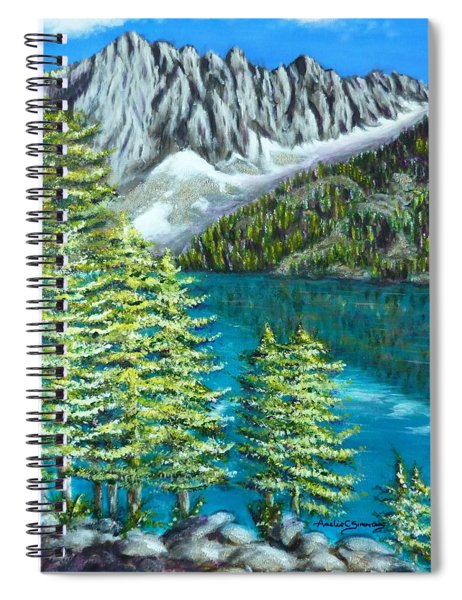 Temple Crag Spiral Notebook
