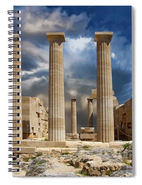 Temple Of Athena Spiral Notebook