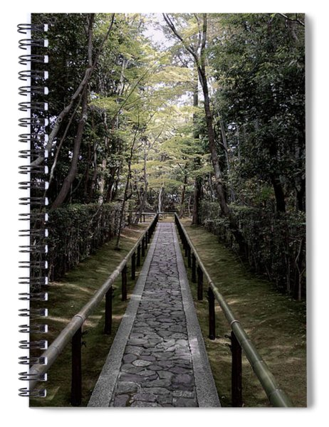 Temple Path - Kyoto Japan Spiral Notebook