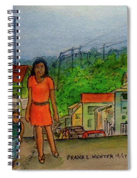 Temporarily Lost In San German Puerto Rico Spiral Notebook