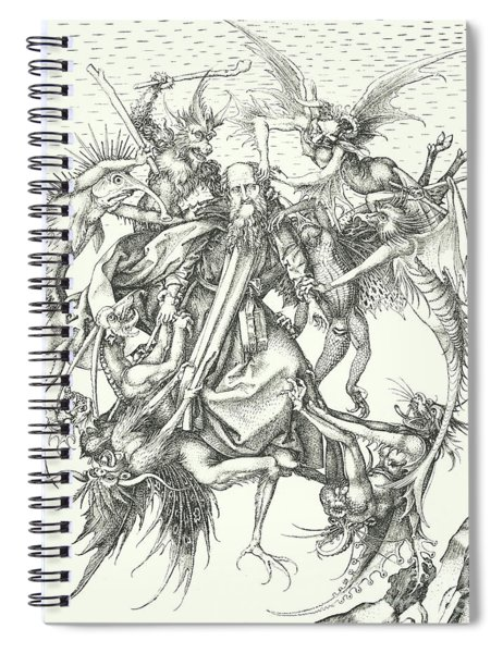 Temptation Of St Anthony  Spiral Notebook