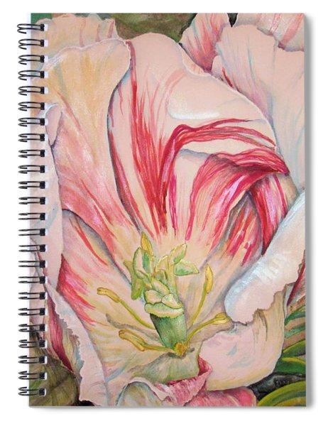 Tempting  Tulip Spiral Notebook