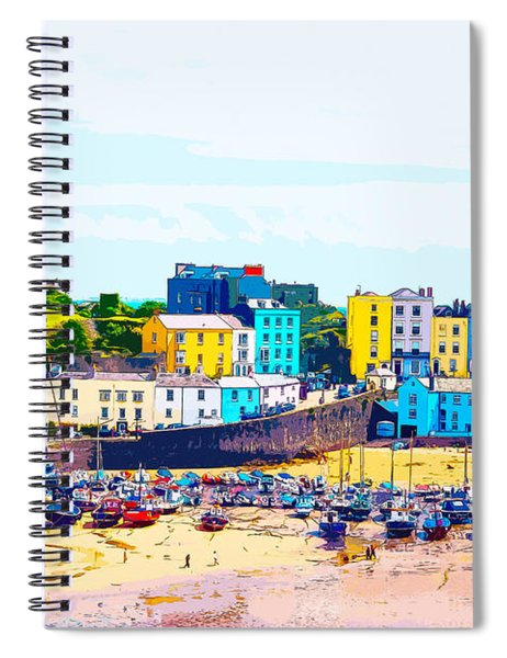 Tenby Harbour Spiral Notebook