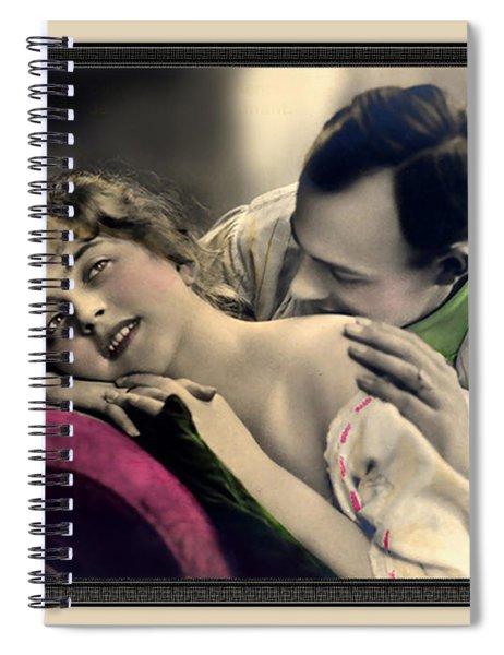 Tender Kisses Spiral Notebook