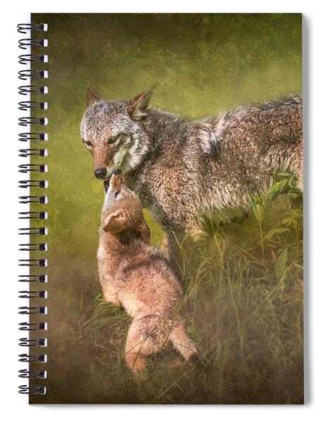Tender Moment Spiral Notebook