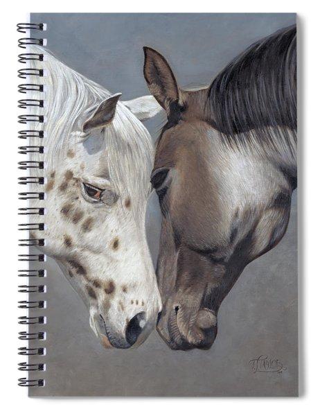 Tender Regard Spiral Notebook