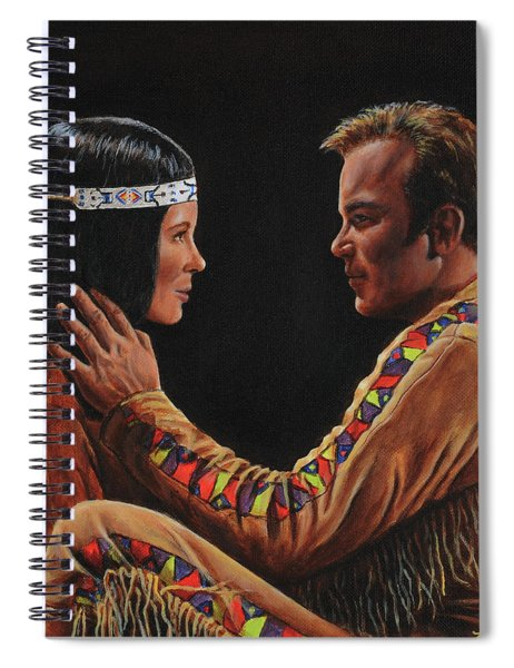 Tenderness In His Touch Spiral Notebook