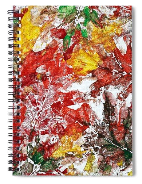 Tenderness Of Autumn Spiral Notebook