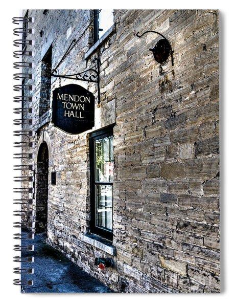 Mendon Town Hall Spiral Notebook