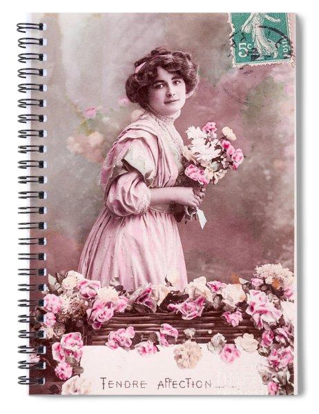 Tendre Affection Spiral Notebook