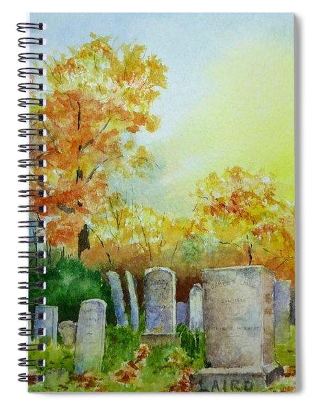 Tennant Cemetery New Jersey Spiral Notebook