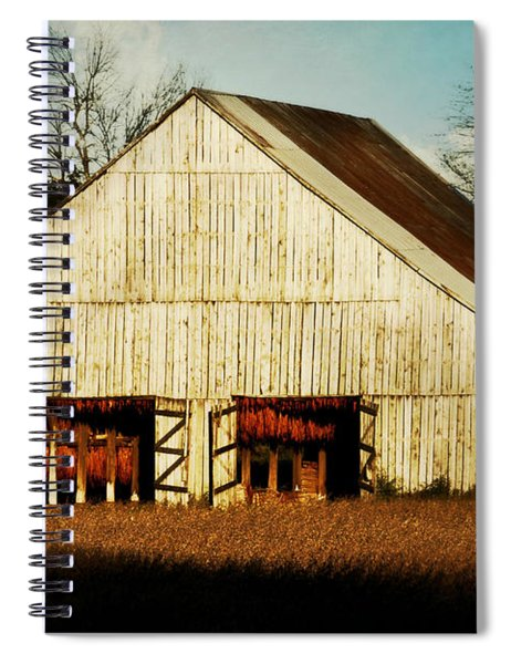 Tennessee Tobacco Barn Spiral Notebook