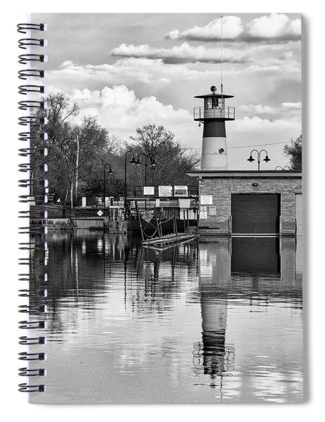 Tenney Lock 3 - Madison - Wisconsin Spiral Notebook
