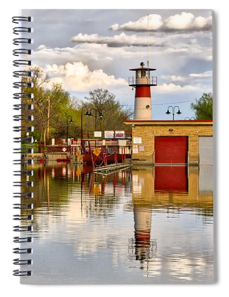 Tenney Lock - Madison - Wisconsin Spiral Notebook