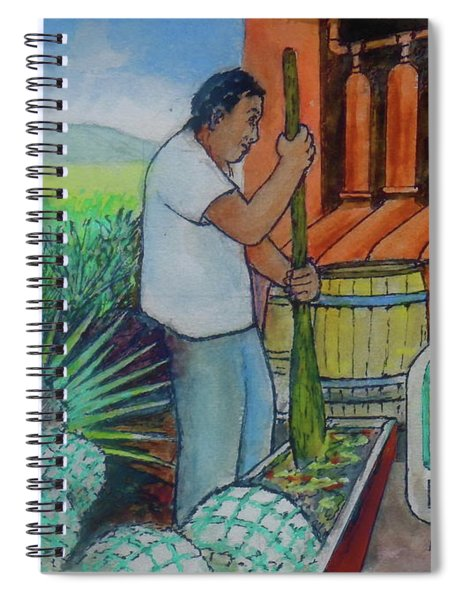 Tequila Farm To Bar Spiral Notebook