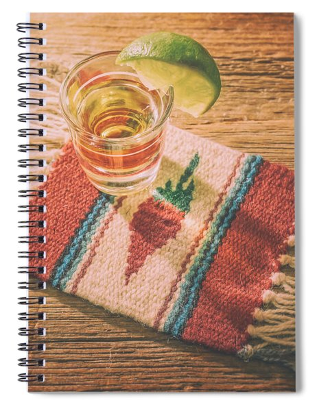 Tequila For Cinco De Mayo Spiral Notebook